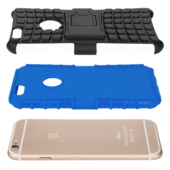 Caseflex iPhone 6 / 6s Kickstand Combo Case - Blue