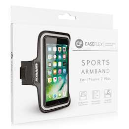 Caseflex iPhone 7 Plus Armband - Black (Retail Box)