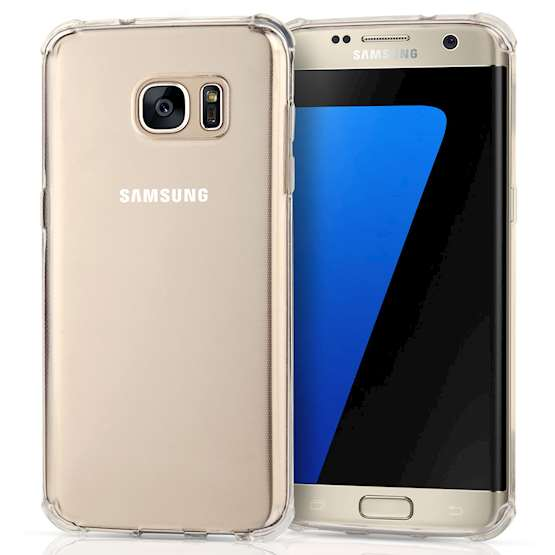 Caseflex Samsung Galaxy S7 Edge TPU Gel Case - Clear