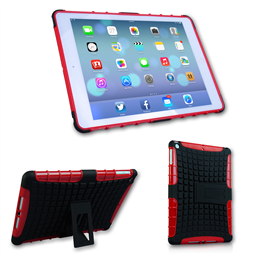 Caseflex iPad Air Tough Stand Cover - Red
