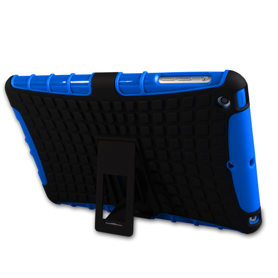 Caseflex iPad Mini 2 Tough Stand Cover - Blue