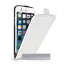 Caseflex iPhone 6 and 6s Real Leather Flip Case - White