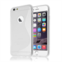Caseflex iPhone 6 Plus and 6s Plus S-Line Gel Case - Clear