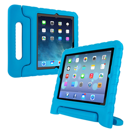 Caseflex Apple iPad 2,3,4 Silicone Handle - Blue