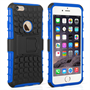 Caseflex iPhone 6 and 6s Kickstand Combo Case - Blue (Retail Box)