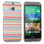 Caseflex HTC One M8 Christmas Pattern Hard Case