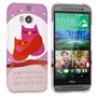 Caseflex HTC One M8 Mummy Owl Hard Case – Purple and Pink