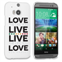 Caseflex HTC One M8 Bob Marley Quote Case