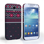 Caseflex Samsung Galaxy S4 Fairisle Case – Grey and Red Half Pattern