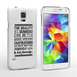 Caseflex Father Family Quote Samsung Galaxy S5 Case