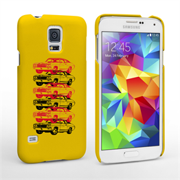 Caseflex Chevrolet Chevelle Classic Car Samsung Galaxy S5 Case- Yellow