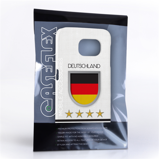 Caseflex Samsung Galaxy S6 Deutschland World Cup Case
