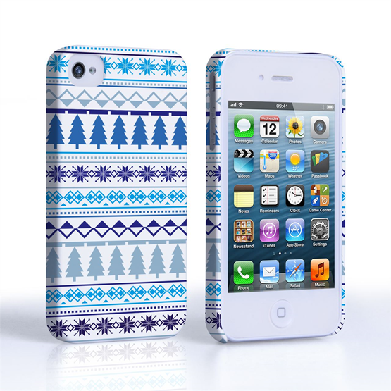 Caseflex iPhone 4 / 4S Christmas Tree Pattern Case