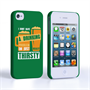 Caseflex iPhone 4 / 4S 'Really Thirsty' Quote Hard Case – Green