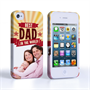 Caseflex iPhone 4 / 4S Best Dad in the World (Red) Case/Cover