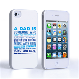Caseflex Definition of a Dad Quote iPhone 4 / 4S Case