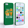 Caseflex iPhone SE 'Really Thirsty' Quote Hard Case – Green