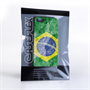 Caseflex iPhone SE Retro Brazil Flag Case