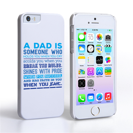 Caseflex Definition of a Dad Quote iPhone 5 / 5S Case