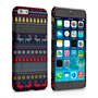 Caseflex iPhone 6 and 6s Reindeer Christmas Jumper Hard Case - Navy / Yellow