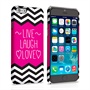 Caseflex iPhone 6 and 6s Live Laugh Love Heart Case