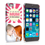 Caseflex iPhone 6 and 6s 'Best Mum in the World' Personalised Hard Case – Pink