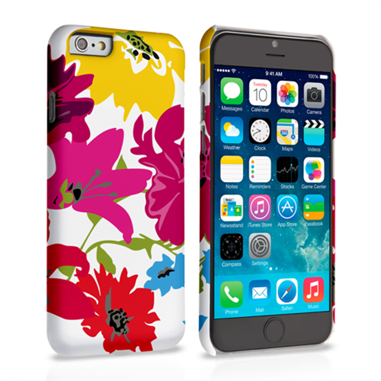 Caseflex iPhone 6 and 6s Retro Flower Bouquet Case
