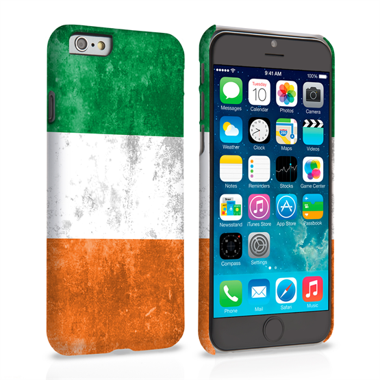 Caseflex iPhone 6 and 6s Retro Ireland Flag Case