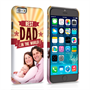 Caseflex iPhone 6 and 6s Best Dad in the World (Red) Case/Cover