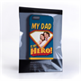 Caseflex My Dad, My Hero Customised Photo iPhone 6 and 6s Case – Blue