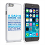 Caseflex Definition of a Dad Quote iPhone 6 and 6s Case