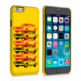 Caseflex Chevrolet Chevelle Classic Car iPhone 6 and 6s Case- Yellow