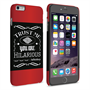 Caseflex iPhone 6 Plus and 6s Plus Bourbon Whiskey Quote Hard Case – Black