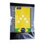 Caseflex iPhone 6 Plus and 6s Plus Brazil 5-Star Retro World Cup Case