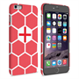 Caseflex iPhone 6 Plus and 6s Plus England Football Pattern World Cup Case
