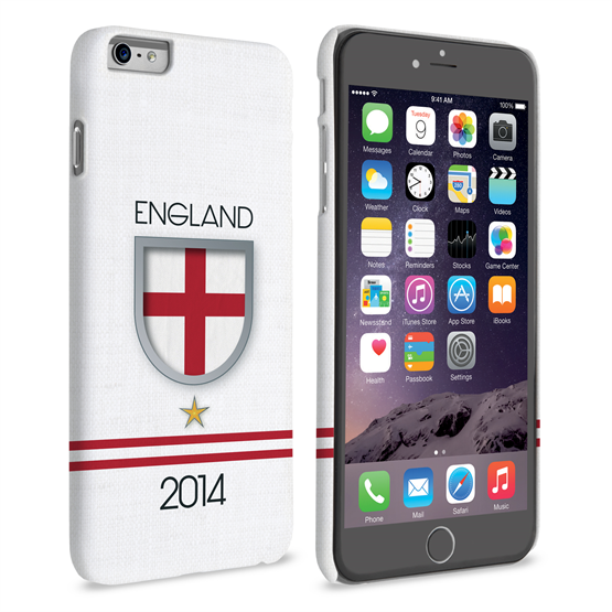 Caseflex iPhone 6 Plus and 6s Plus England World Cup Case
