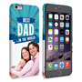 Caseflex iPhone 6 and 6s Plus Best Dad in the World (Blue) Case/Cover