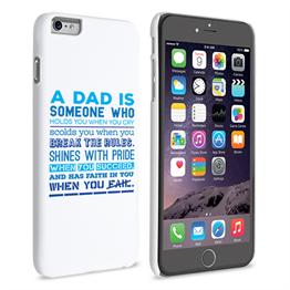 Caseflex Definition of a Dad Quote iPhone 6 and 6s Plus Case