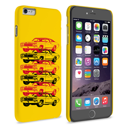 Caseflex Chevrolet Chevelle Classic Car iPhone 6 and 6s Plus Case- Yellow
