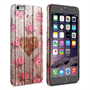 Caseflex iPhone 6 Plus and 6s Plus Vintage Wooden Heart Case