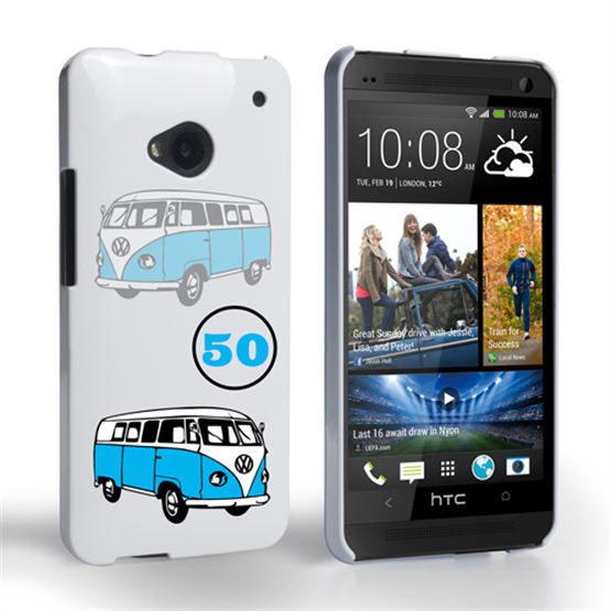 Caseflex VW Camper Van Classic Car HTC One Case