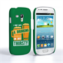 Caseflex Samsung Galaxy S3 Mini 'Really Thirsty' Quote Hard Case – Green