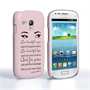 Caseflex Samsung Galaxy S3 Mini Audrey Hepburn 'Eyes' Quote Case