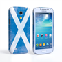 Caseflex Samsung Galaxy S4 Mini Retro Scotland Flag Case