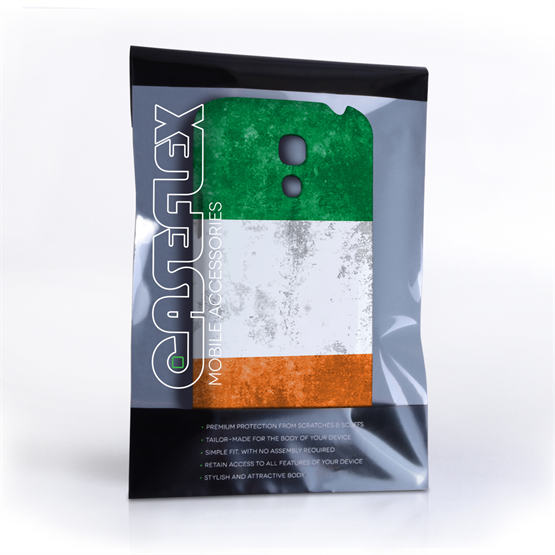Caseflex Samsung Galaxy S4 Mini Retro Ireland Flag Case