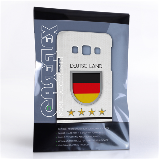Caseflex Samsung Galaxy A3 Deutschland World Cup Case