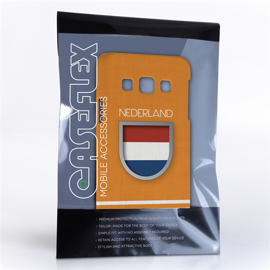 Caseflex Samsung Galaxy A3 Nederland World Cup Case