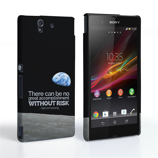 Caseflex Sony Xperia Z Neil Armstrong Quote Case
