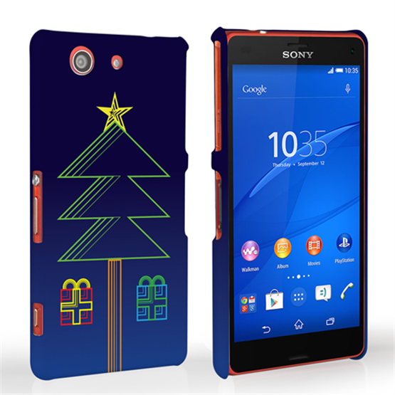 Caseflex Sony Xperia Z3 Compact Christmas Tree & Presents Hard Case