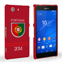 Caseflex Sony Xperia Z3 Compact Portugal World Cup Case